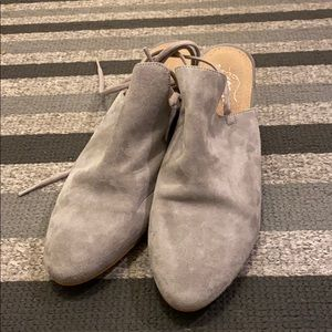 Free People Mule with ankle tie sz 8